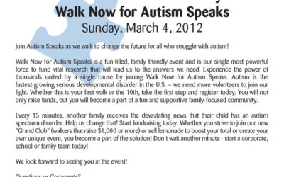 12th Annual Miami County Walk Now for Autism Speaks