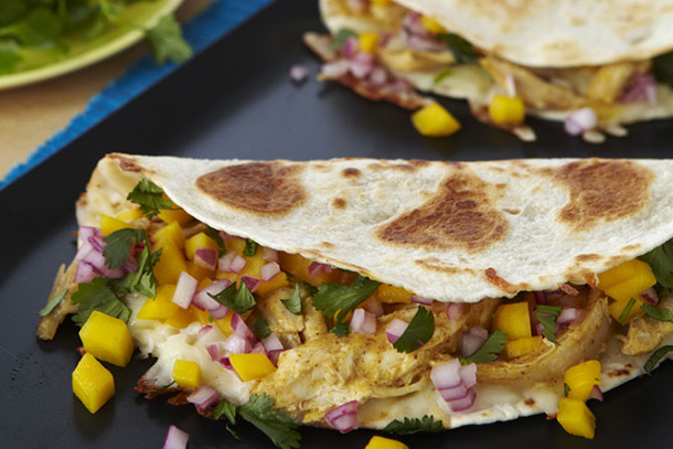 Chicken_Mango_Quesadillas