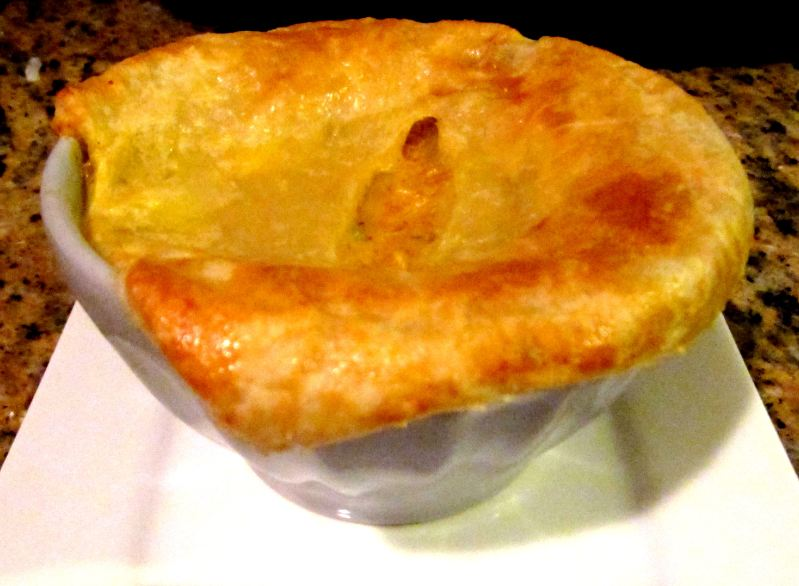 IMUSA Curried Chicken Pot Pie