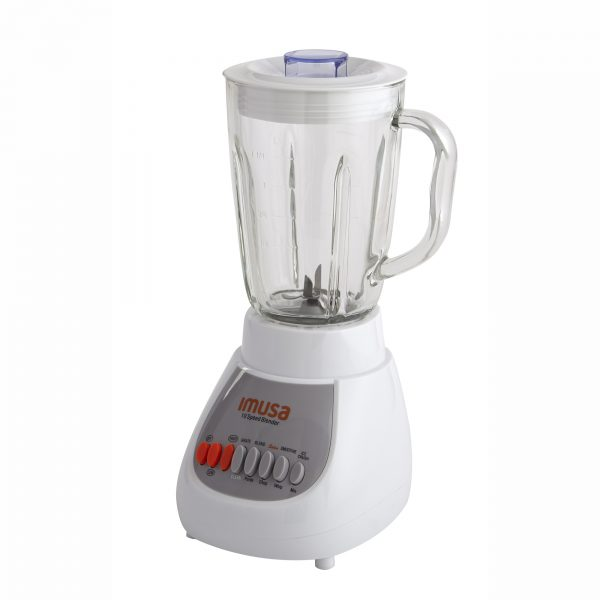 IMUSA Electric Blender 10 Speed 42 Ounces 350 Watts, White