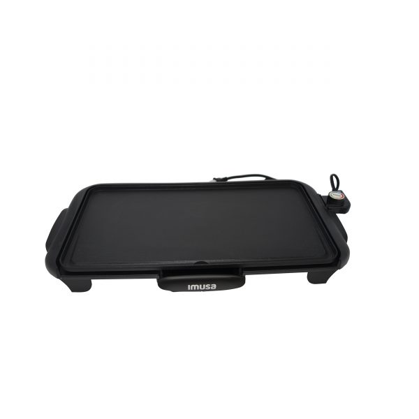 IMUSA Electric Griddle 19.5 Inches, Black