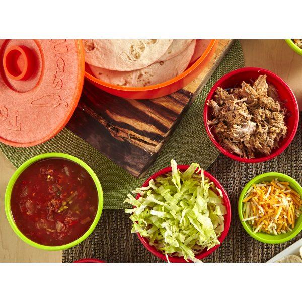 IMUSA Salsa Dish 10 Ounces, Multicolor