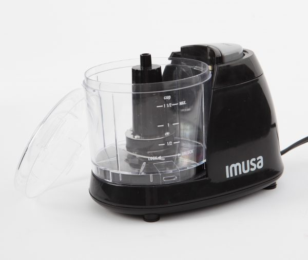 IMUSA Electric Mini Chopper 1.5 Cups 100 Watts, Black