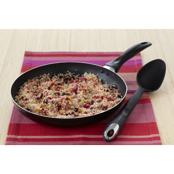 IMUSA Nonstick Chef Saute Pan 9.5 Inch, Black