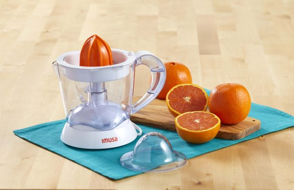 IMUSA Electric Citrus Juicer 34 Ounces 40 Watts, White