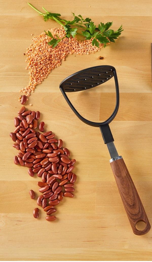 IMUSA Bean Masher with Woodlook Handle