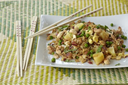 Basil Pineapple Fried Rice