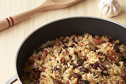 Easy Coconut Rice and Beans