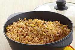 Spanish Rice with Corn and Olives
