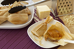 Cheesy Sun-Dried Tomato Tamales