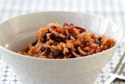 "Arroz con Gandules ""Rice with Pigeon Peas"""