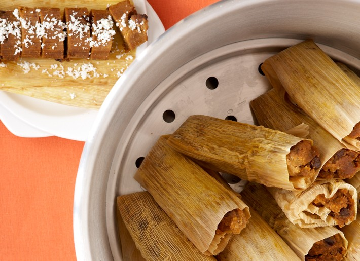 """Pumpkin-Pie"" Tamales"