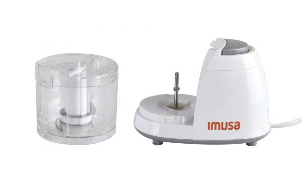 IMUSA Electric Mini Chopper 1.5 Cups 100 Watts, White