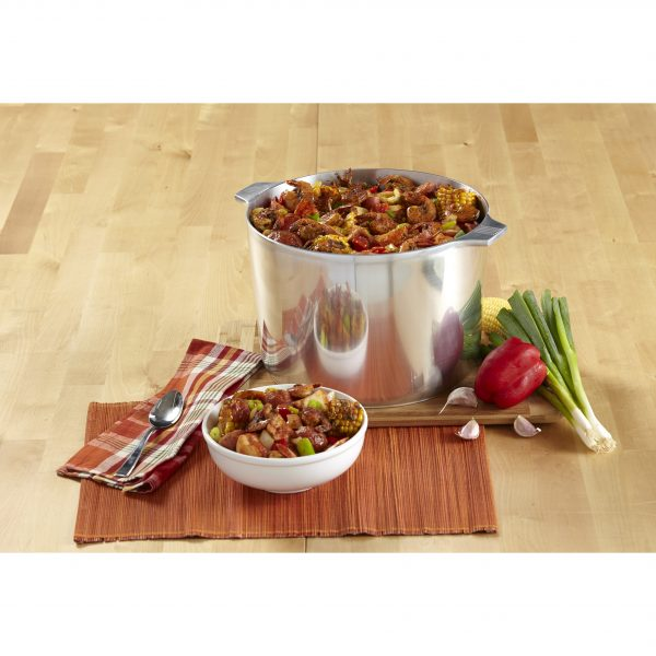 IMUSA Cajun Aluminum Stock Pot 14 Quart