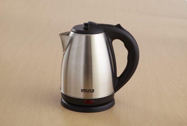 IMUSA Electric Stainless Steel Tea Kettle 1.8 Liter 1500 Watts