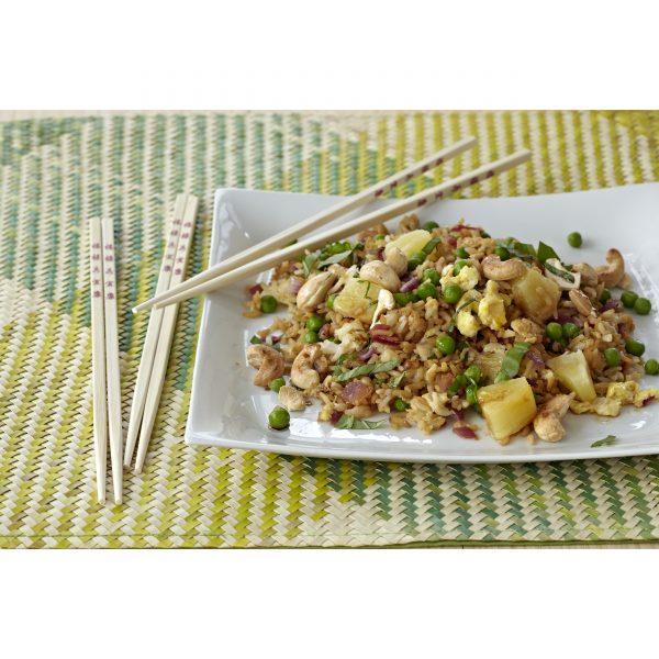 "IMUSA Bamboo 12-Pair 10.5"" Chopsticks, Tan"