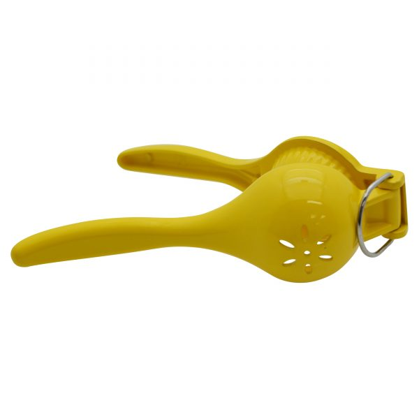 IMUSA Cast Aluminum Lemon Squeezer, Yellow