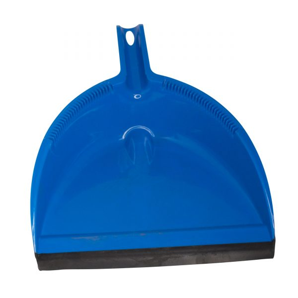 IMUSA X-Large Blue Angled Broom w/ Dustpan Set, Blue