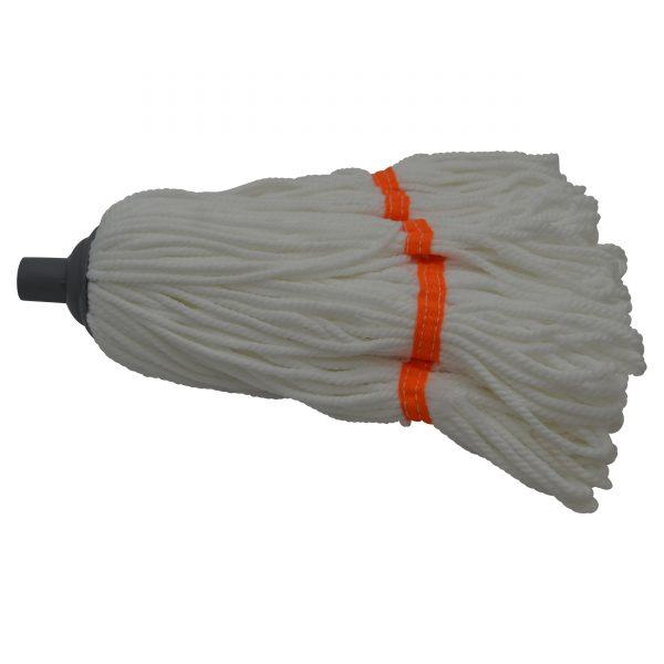 IMUSA Microfiber Mop with Metal Handle, Orange
