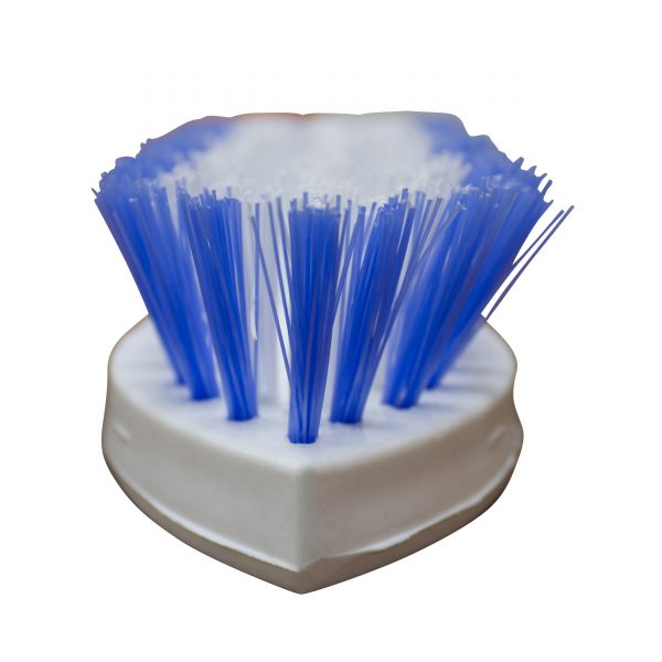 IMUSA Heavy Duty Scrub Brush, White/Blue