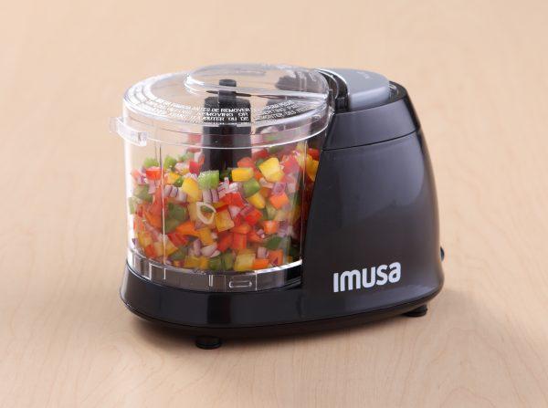 IMUSA Electric Mini Chopper 1.5 Cups 100 Watts, Black