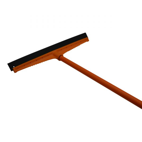 IMUSA Floor Squeegee with Metal Handle, Orange