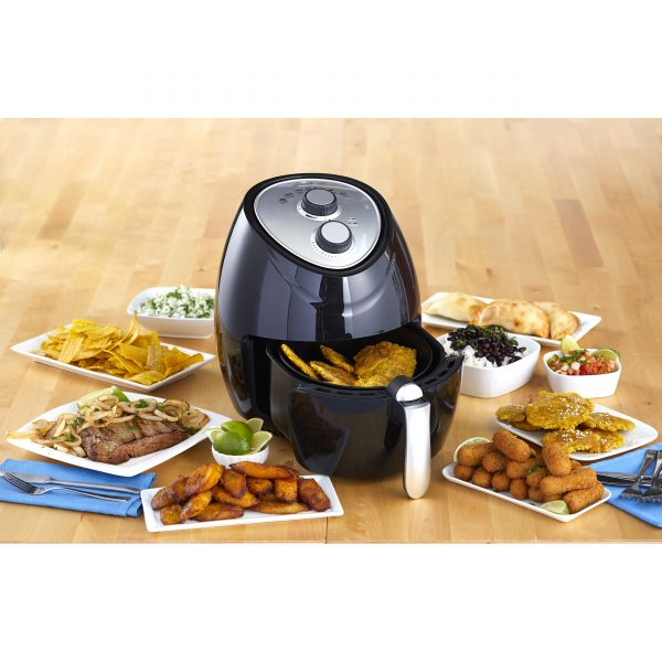 IMUSA Electric Air Fryer 6.2 Quarts, Black
