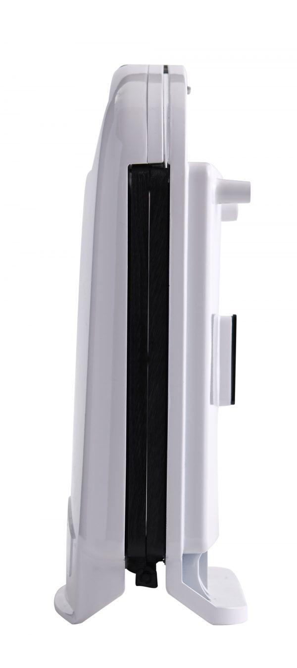 IMUSA Electric Nonstick Arepa Maker 1400 Watts, White