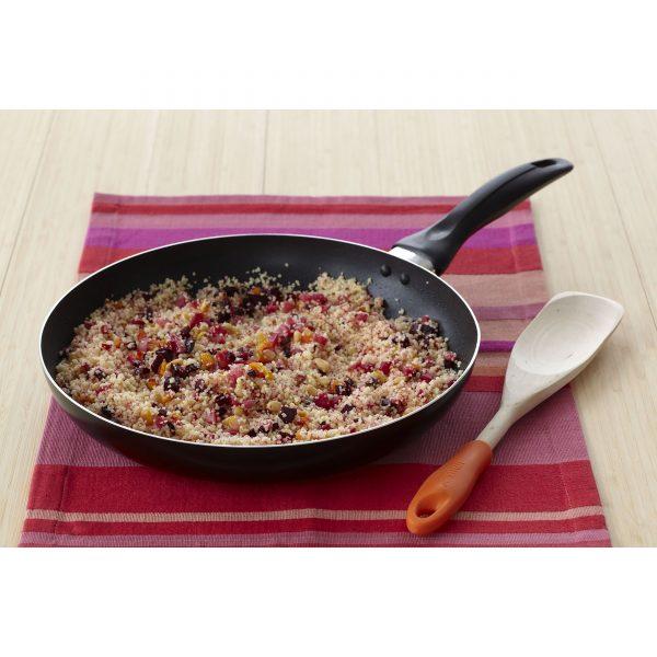 IMUSA Nonstick Chef Saute Pan 11 Inch, Black
