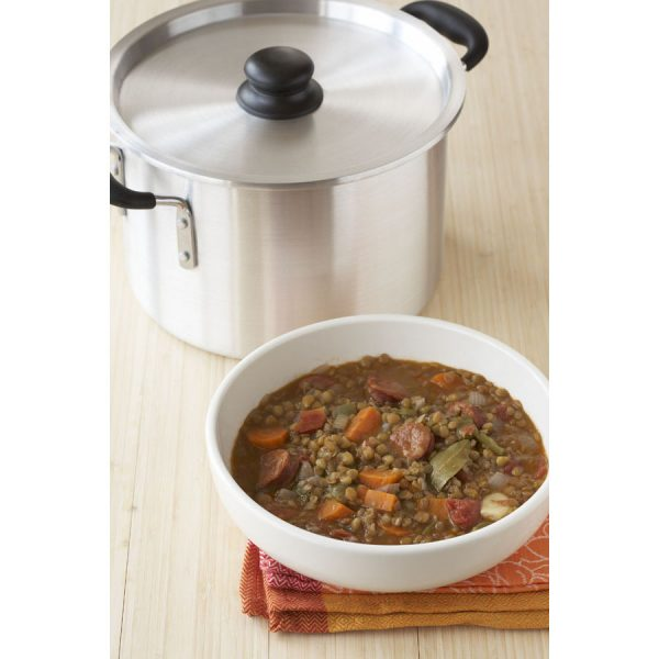 IMUSA Aluminum Stock Pot with Lid 12 Quart