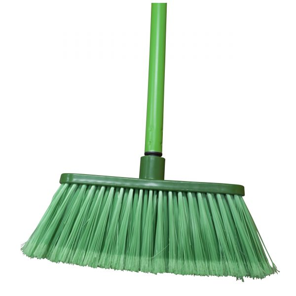 IMUSA Andina Broom with Metal Handle, Green