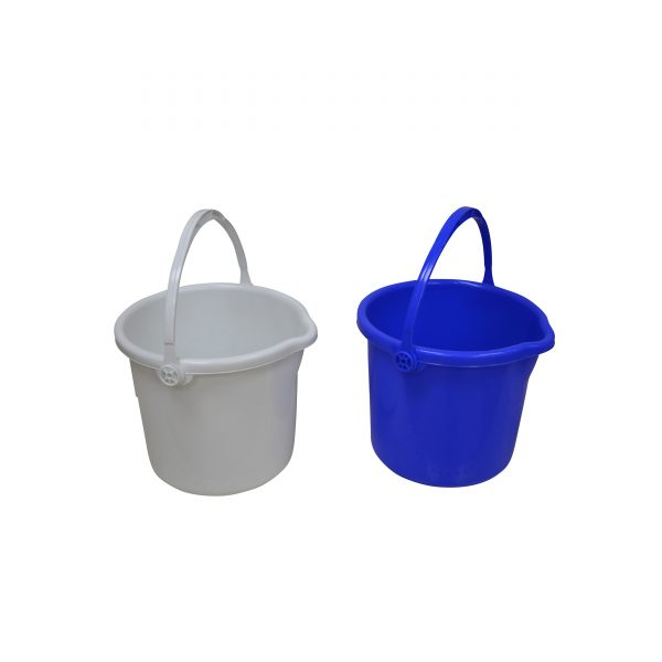 IMUSA Cleaning Bucket 13 Liters, Blue/Tan/White