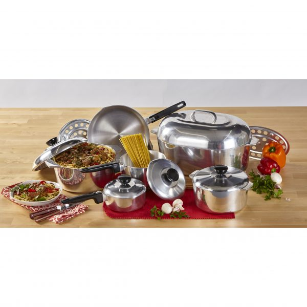 IMUSA 13-Piece Cast Aluminum Cajun Cookware Set