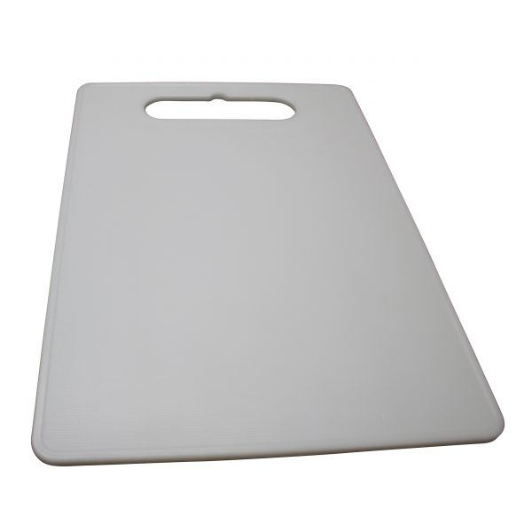 IMUSA Large Plastic Cutting Board, White