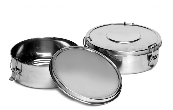 IMUSA Stainless Steel Flan Mold 18 cm, Silver